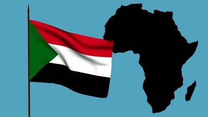 Africa  bandiera Sudan