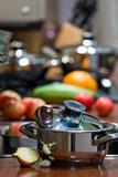 Kitchen cooking details poster
