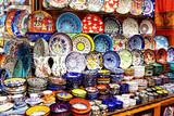 Souvenir ceramics in Grand Bazaar poster