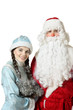 Russian Christmas characters: Ded Moroz  and Snegurochka