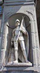 Statue of Francesco Ferrucci