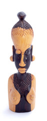 Figurine of the woman, Africa, full face