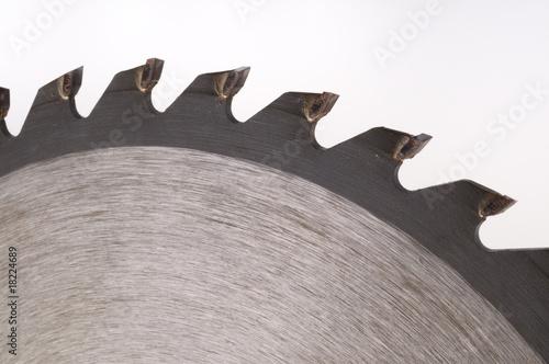 Leinwanddruck Bild Metallsägeblatt