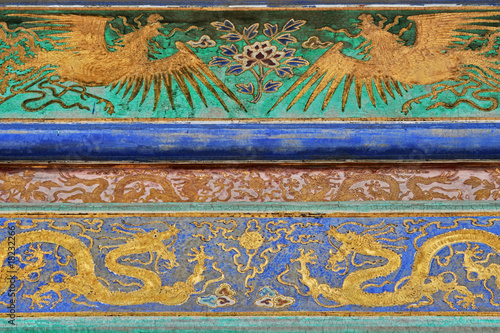 Historic Ornament in the Forbidden City (Peking)