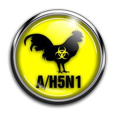 Vogelgrippe Symbol