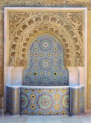 Mosaik Platten Marrokko - 18235497