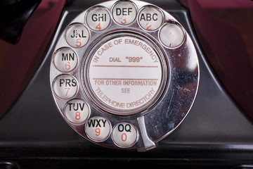 1940s Phone Dial