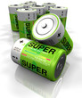 GREEN SUPER BATTERY 1