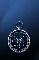 macro of compass