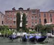 Gondola and Ca Corner Martinengo Rava, Venice