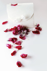 Petals and giftbox