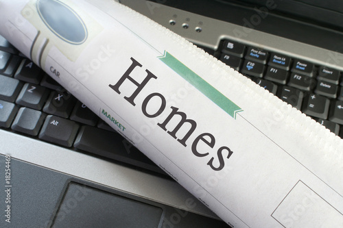 Homes newspapers section
