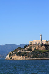 Alcatraz Island in San Francisco California