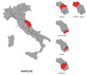Marche e province