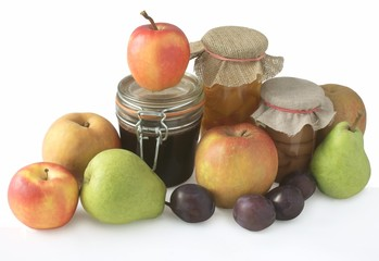 fruits and preserves
