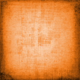 Abstract orange shabby backdrop for decorative design poster