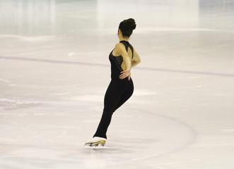 pattinatrice su ghiaccio