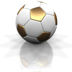 GOLD SOCCER BALL 1