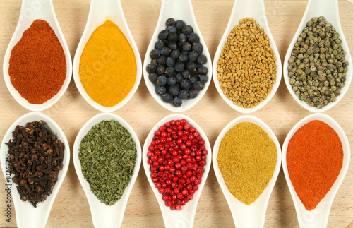 Colorful spices - 18267255