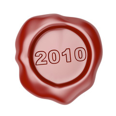 Wax seal with 2010