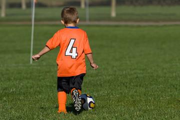 Lil' guy soccer