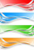 Fototapety Vector colorful banners