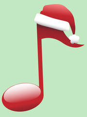 Carol Musical Note for Holiday Christmas Music