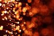 red fiber optics