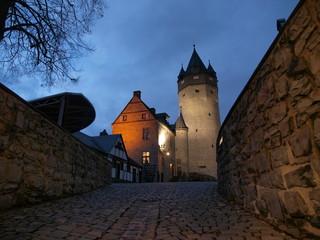 Burg Altena, Abendbeleuchtung