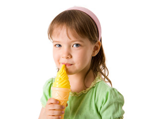 Ice-cream girl