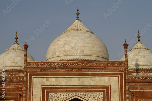 One of the side buildings by Taj Mahal, Agra, India