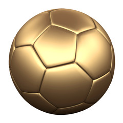 GOLD SOCCER BALL 2