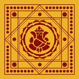 Spiritual Lord Ganesha Design poster