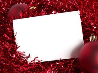 biglietto di auguri natalizio