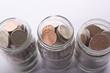 Three Coin Jars