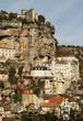Rocamadour, vue verticale