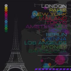 Cities_New York_London_Paris_Font