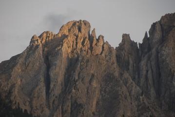 Felsmassiv in den Dolomiten - Latemar -