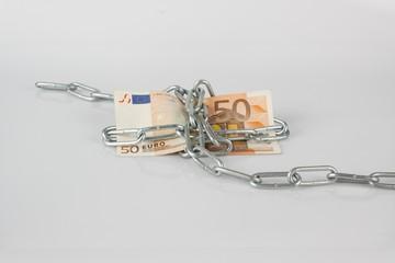 Geld in Ketten