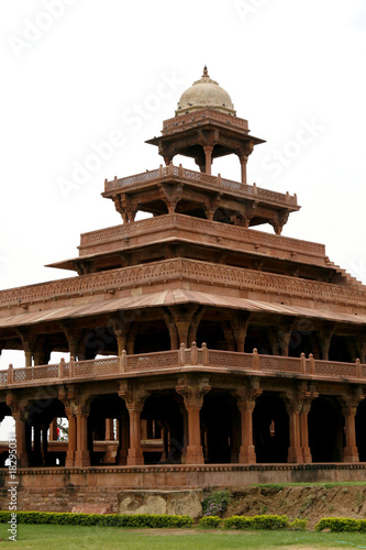 Abandoned temple in Fatehpur Sikri complex, Rajasthan, India