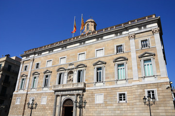 Barcelona - government palace