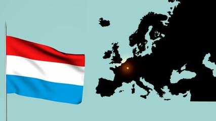Lussemburgo Bandiera europea