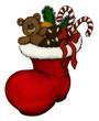 Weihnachten, Nikolaus, Stiefel, Christmas, Santa
