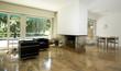 modern flat, interior