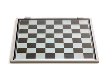 Empty Chess Board From Glass