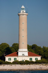 Leuchtturm in Kroatien, Dugi Otok,