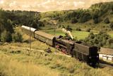 Fototapeta kolejowych - kolejowe - Kolej