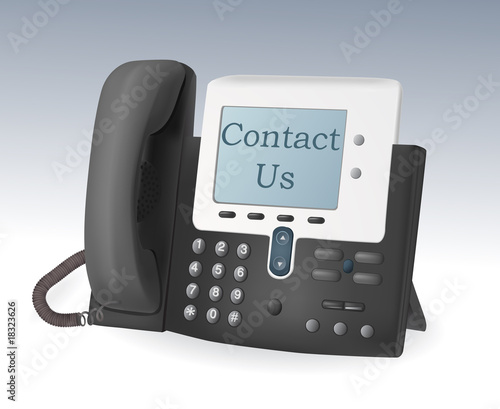 telephone with display vector - 18323626