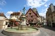Leinwanddruck Bild - Dijon, France