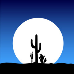 cactus on the moon